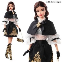 Barbie バービー Collector BMFC Black ブラック and Gold Dress Barbie バービー Doll ドール