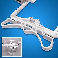 Threeking DJI Phantom 3 Advanced / Professional/Standard用プロテクター 着陸ギアスキッド  Foot rest Alighting gear ...