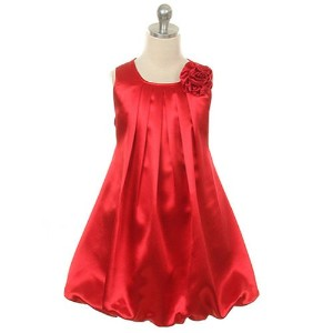 Kids Dream DRESS ガールズ 2T レッド KDREM-242RED2
