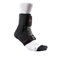 McDavid Deluxe Ankle Support Brace w/ Strap Sprain Prevention Recovery, Black XS