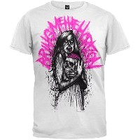 地平線を見せてくれ Bring Me The Horizon Zombie Brain Tシャツ T-Shirt