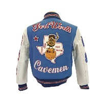 WHITESVILLE ホワイツビル SET-IN AWARD JAKET Fort Worth Cavemen 【smtb-k】【kb】