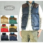 【Rocky Mountain Featherbed ロッキーマウンテン】【正規販売】 送料無料!MEN'S DOWN VEST(ダウンベスト)450-472-01
