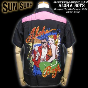 Sun Surf Special EditionALOHA BOYS (BLACK) by Machinegun Kellyマシンガンケリー・デザイン!