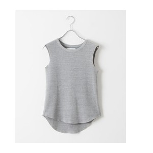 DOORS FORK&SPOON Waffle Thermal Sleeveless【アーバンリサーチ/URBAN RESEARCH レディス Tシャツ・カットソー 杢GRAY ルミネ LUMINE】