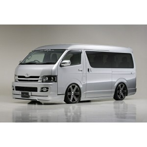 【200 ハイエース ワイド | ヴァルド】KDH/TRH21#/22# HIACE/REGIUS ACE WIDE LONG EXECUTIVE LINE Version2 SIDE STEP ...