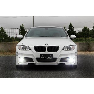 【BMW 3 Series Coupe E92 | ランド エアロテック】BMW E92 クーペ 前期 ABANT FRONT BUMPER用 LED DAYLIGHT KIT