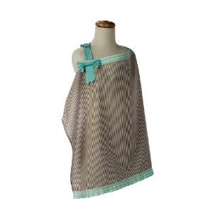 Trend Lab Cocoa Mint Nursing Cover by Trend Lab