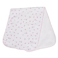 Kissy Kissy Baby Girls Garden Roses Print Burp Pad- One Size by Kissy Kissy