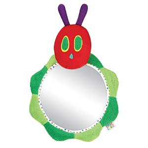 Eric Carle Caterpillar Back Seat Baby View Mirror by Eric Carle