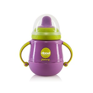 Joovy Dood Sippy Cup Plus Insulator, Purpleness, 7 Ounce by Joovy
