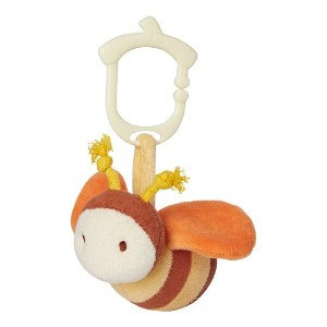 My Natural 46305 Clip n Go Stroller Toy - Bumble Bee