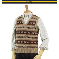 RUGBY by RL Fairisle Knit Vest ラルフローレン フェアアイル ラグビー ニットベスト