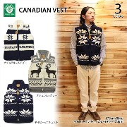 CANADIAN SWEATER(カナディアンセーター)CANADIAN VEST 3color