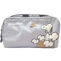 LesportSac レスポートサック ポーチ RECTANGULAR COSMETIC SNOOPY IN THE CLOUDS(スヌーピーインザクラウド) 6511-P729 [並行輸入品]