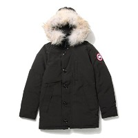 "(レイビームス)Ray BEAMS / CANADA GOOSE / ""Jasper"" 61180149418 XXS ブラック"