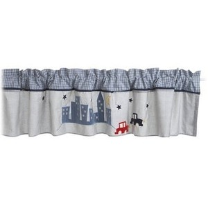 City Window Valance by Lambs & Ivy