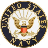 United States NavyロゴラペルピンメダルUS Military Commemorative Collectibles、愛国Veteranギフト