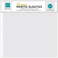 Echo Park Paper Photo Freedom Photo Sleeves Protectors (25 Pack), 12' by 12'/(1) 12' by 12' Pocket ...