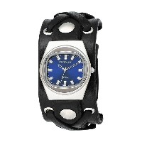 【Red Monkey Designs レッドモンキー 腕時計 RM666-XA2 X-Strap 2 Black Leather Blue Dial Watch】