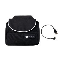 4moms Origami Handlebar Bag Plus Cell Phone Cable, Black by 4moms