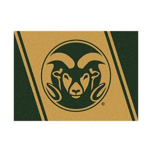 Colorado State Rams SpiritマスコットRug ゴールド