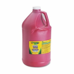 Crayola 542128038 Washableペイント、赤、1 Gal