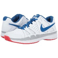ナイキ メンズ テニス シューズ・靴【Air Vapor Advantage】White/Blue Jay/Wolf Grey/Action Red