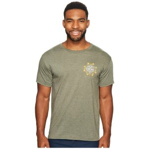 ローアク メンズ トップス Tシャツ【Tiger Lotus Short Sleeve T-Shirt】Army Green