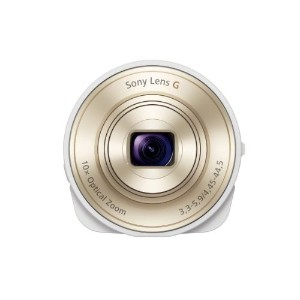 Sony DSC-QX10/W Smartphone Attachable Lens-Style Camera 4.45-44.5mm Interchangeable Lens for Other...