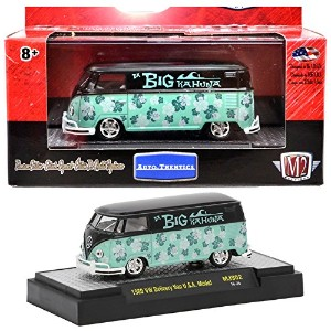 "M2 MACHINES 1:64SCALE AUTO-THENTICS ""1960 VOLKSWAGEN DELIVERY VAN U.S.A. MODEL"" M2マシンズ 1:64スケール オート..."