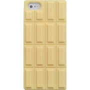 PLATA ( プラタ ) iPhone5 iPhone5s 用 チョコレート デザイン シリコン ケース 【 ホワイト 】for iPhone 5 5s silicone case