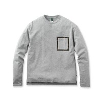 【BASECONTROL (ベースコントロール)】【MADE IN JAPAN】40/2コーマ天竺ポケ付ロンTメンズ トップス|カットソー・Tシャ...