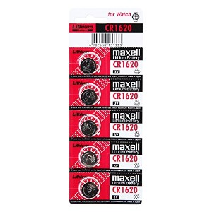 [Maxell] CR1620 3V Lithium Battery 1PACK X (5PCS) 日本製バッテリー [並行輸入品]