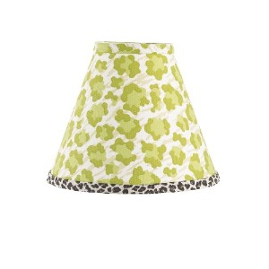 Cotton Tale Designs Standard Lamp Shade, Here Kitty Kitty by Cotton Tale Designs