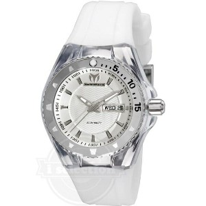 【TechnoMarine テクノマリーン ユニセックス 腕時計 110045 Cruise Original 3 Hands Silver Dial Watch】