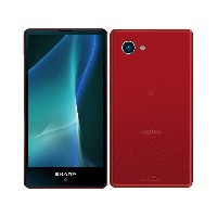 シャープ(SHARP) AQUOS mini SH-M03 SIMフリー [Red] SH-M03-RD