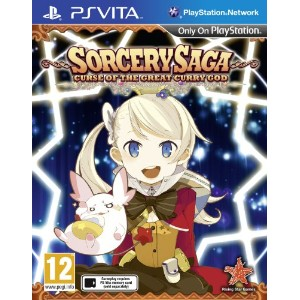 Sorcery Saga: Curse of the Great Curry God (Playstation Vita) (輸入版) (UK Account required for online...