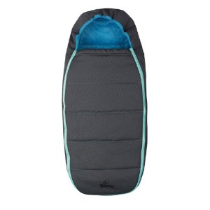 Quinny Buzz Stroller Footmuff, Blue Scratch by Quinny