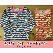 【sale】S/S☆★【FORTY ONE】フォーティワンキャラクターTee