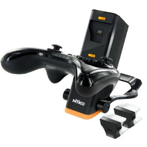 【CHARGE BASE PRO Black for Wii U Pro Controllers】 b00anhbi4w