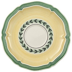 Villeroy & BochフレンチガーデンFleurence after-dinner Cup Saucers [セットof 2]