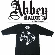 アビードーン Abbey DAWN レディース 七分 Tシャツ NEEDLES AND PINS FASHION TEE 半袖 ADLSFT00061S12 ADLSST0022