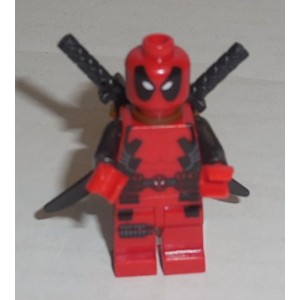 【Lego Marvel Super Heroes Deadpool Minifigure by LEGO】