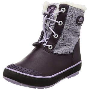 17FW キーン(KEEN) ELSA L BOOT WP キッズ・ジュニア PLUM/LILAC PASTEL 1015494 【RCP】 【送料無料】