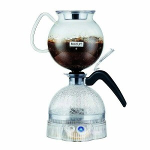 ボダム コーヒーメーカー サイフォン 8カップ Bodum ePEBO Coffee Maker, Electric Vacuum Coffee Maker, Siphon Coffee...