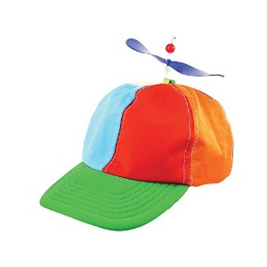 Helicopter Clown Hat (Hats) - Unisex - One Size