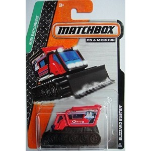 【MATCHBOX BLIZZARD BUSTER MBX EXPLORERS RED 43/120】