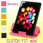 【送料無料】 7〜8インチ タブレット PC ケース CLUTCH FIT mini iPad mini 2012 Nexus7 GALAXY Tab ASUS Lenovo Kindle 薄型軽量...