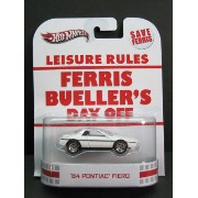 1/64scale ホットウィール Hot WheelsRetro Entertaiment Ferris Bueller's Day Off '84 Pontiac Fieroフェリスはある朝突然に ポンティ...